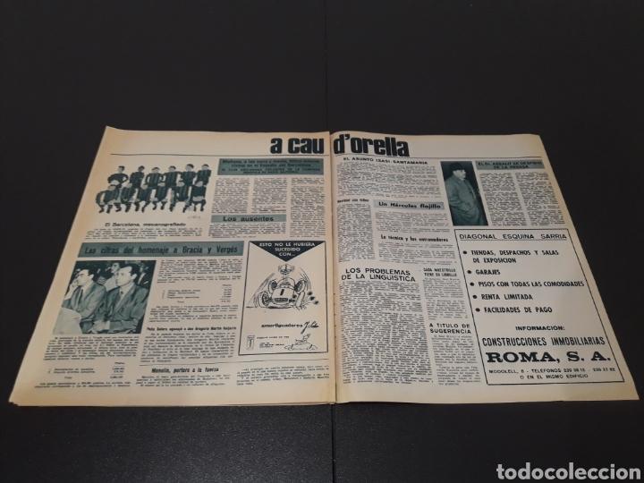 Coleccionismo deportivo: REVISTA BARÇA. N° 577. DICIEMBRE 1966. - Foto 12 - 245383230