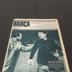 Coleccionismo deportivo: REVISTA BARÇA. N° 577. DICIEMBRE 1966.. Lote 245383230