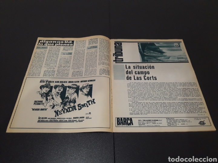Coleccionismo deportivo: REVISTA BARÇA. N° 572. NOVIEMBRE 1966. - Foto 2 - 245383830