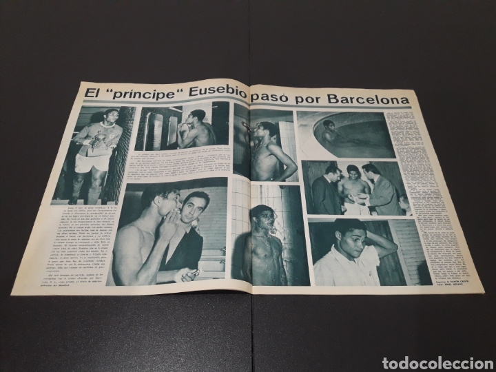 Coleccionismo deportivo: REVISTA BARÇA. N° 570. OCTUBRE 1966. - Foto 3 - 245384335