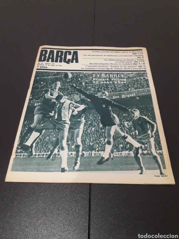 REVISTA BARÇA. N° 570. OCTUBRE 1966. (Coleccionismo Deportivo - Revistas y Periódicos - otros Fútbol)