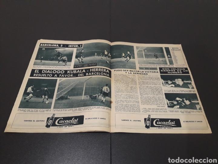 Coleccionismo deportivo: REVISTA BARÇA. N° 319. ENERO 1962. - Foto 5 - 245384980