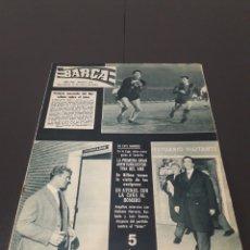 Coleccionismo deportivo: REVISTA BARÇA. N° 319. ENERO 1962.. Lote 245384980