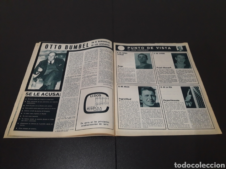 Coleccionismo deportivo: REVISTA BARÇA. N° 502. JULIO 1965. - Foto 4 - 245385495