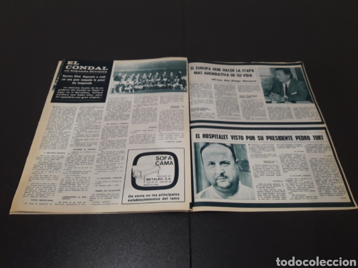 Coleccionismo deportivo: REVISTA BARÇA. N° 502. JULIO 1965. - Foto 9 - 245385495