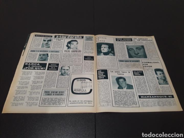 Coleccionismo deportivo: REVISTA BARÇA. N° 502. JULIO 1965. - Foto 12 - 245385495