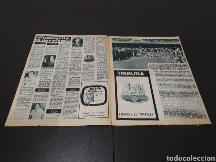 Coleccionismo deportivo: REVISTA BARÇA. N° 507. AGOSTO 1965. - Foto 2 - 245386040