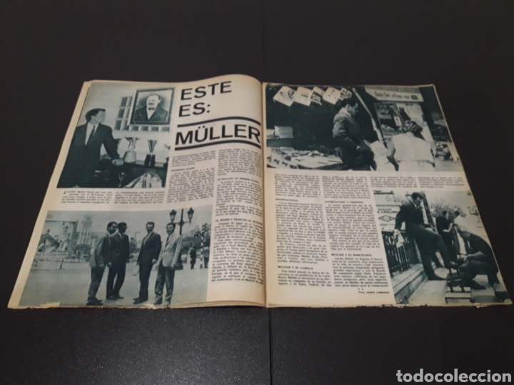 Coleccionismo deportivo: REVISTA BARÇA. N° 507. AGOSTO 1965. - Foto 5 - 245386040