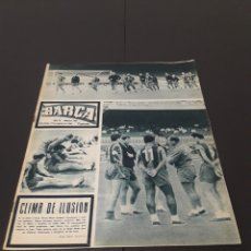 Coleccionismo deportivo: REVISTA BARÇA. N° 508. AGOSTO 1965.. Lote 245386645