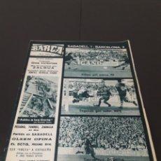 Coleccionismo deportivo: REVISTA BARÇA. N° 513. SEPTIEMBRE 1965.. Lote 245387800