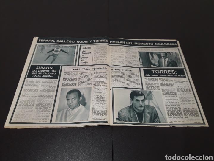 Coleccionismo deportivo: REVISTA BARÇA. N° 532. ENERO 1966. - Foto 10 - 245388935
