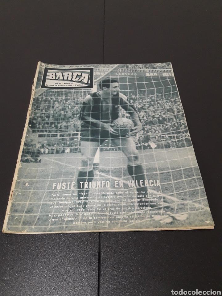 REVISTA BARÇA. N° 532. ENERO 1966. (Coleccionismo Deportivo - Revistas y Periódicos - otros Fútbol)