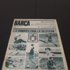 Coleccionismo deportivo: REVISTA BARÇA. N° 550. JUNIO 1966.. Lote 245560445