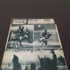 Coleccionismo deportivo: REVISTA BARÇA. N° 535. FEBRERO 1966.. Lote 245561515