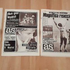 Coleccionismo deportivo: LOTE PRENSA DEPORTIVA REAL MADRID COPA DE EUROPA 1987/1988. Lote 245561635