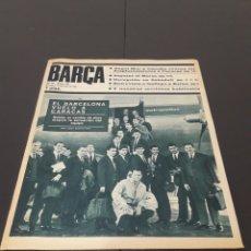 Coleccionismo deportivo: REVISTA BARÇA. N° 584. ENERO 1967.. Lote 245562105