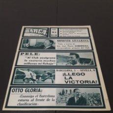 Coleccionismo deportivo: REVISTA BARÇA. N° 524. DICIEMBRE 1965.. Lote 245563875
