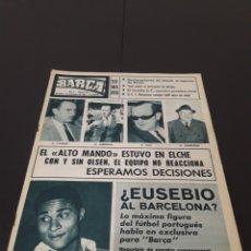 Coleccionismo deportivo: REVISTA BARÇA. N° 523. NOVIEMBRE 1965.. Lote 245564535