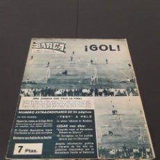Coleccionismo deportivo: REVISTA BARÇA. N° 395. JUNIO 1963.. Lote 245566900