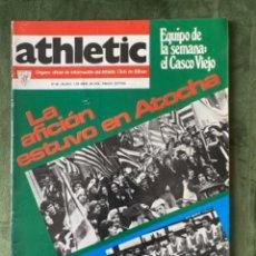Coleccionismo deportivo: ANTIGUA REVISTA ATHLETIC NUM 49 1976 BILBAO ÓRGANO OFICIAL. Lote 246089205