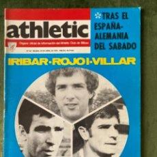 Coleccionismo deportivo: ANTIGUA REVISTA ATHLETIC NUM 53 1976 BILBAO ÓRGANO OFICIAL. Lote 246090365