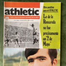 Coleccionismo deportivo: ANTIGUA REVISTA ATHLETIC NUM 54 1976 BILBAO ÓRGANO OFICIAL. Lote 246091925