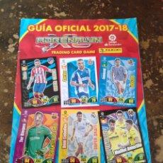 Coleccionismo deportivo: GUÍA OFICIAL ADRENALYN 2017-2018 (PANINI). Lote 246092770