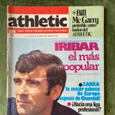 Coleccionismo deportivo: ANTIGUA REVISTA ATHLETIC NUM 59 1976 BILBAO ÓRGANO OFICIAL. Lote 246092980