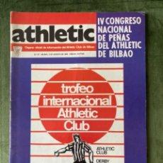 Collezionismo sportivo: ANTIGUA REVISTA ATHLETIC NUM 67 1976 BILBAO ÓRGANO OFICIAL. Lote 246094630