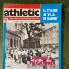 Coleccionismo deportivo: ANTIGUA REVISTA ATHLETIC NUM 69 1976 BILBAO ÓRGANO OFICIAL. Lote 246095385