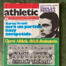 Coleccionismo deportivo: ANTIGUA REVISTA ATHLETIC NUM 74 1976 BILBAO ÓRGANO OFICIAL. Lote 246095535