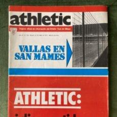 Coleccionismo deportivo: ANTIGUA REVISTA ATHLETIC NUM 103 1976 BILBAO ÓRGANO OFICIAL. Lote 246095980