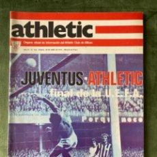 Collezionismo sportivo: ANTIGUA REVISTA ATHLETIC NUM 104 1976 BILBAO ÓRGANO OFICIAL. Lote 246096275