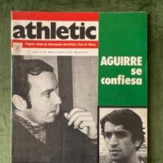 Collezionismo sportivo: ANTIGUA REVISTA ATHLETIC NUM 105 1976 BILBAO ÓRGANO OFICIAL. Lote 246096485
