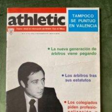 Coleccionismo deportivo: ANTIGUA REVISTA ATHLETIC NUM 134 1977 BILBAO ÓRGANO OFICIAL. Lote 246097560