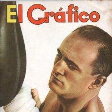 Coleccionismo deportivo: 1939 EL GRAFICO # 1036 ANGEL ZUBIETA EN SAN LORENZO ESTUDIANTES VS RACING ALEKHINE BOCA VS LANUS. Lote 246103310