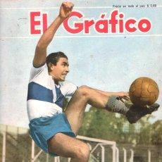 Coleccionismo deportivo: 1950 EL GRAFICO # 1631 BASQUET ARGENTINA CAMPEON DEL MUNDO ESTUDIANTES VS GIMNASIA FANGIO ESTUDIANTE. Lote 246106670