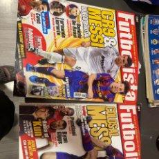 Coleccionismo deportivo: REVISTAS FUTBOLISTA MESSI 79 Y 80. Lote 246350930