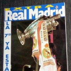 Collezionismo sportivo: REVISTA EXTRA 7ª COPA EUROPA FÚTBOL REAL MADRID CAMPEÓN CHAMPIONS LEAGUE 98 AMSTERDAM MIJATOVIC RAÚL. Lote 246577195