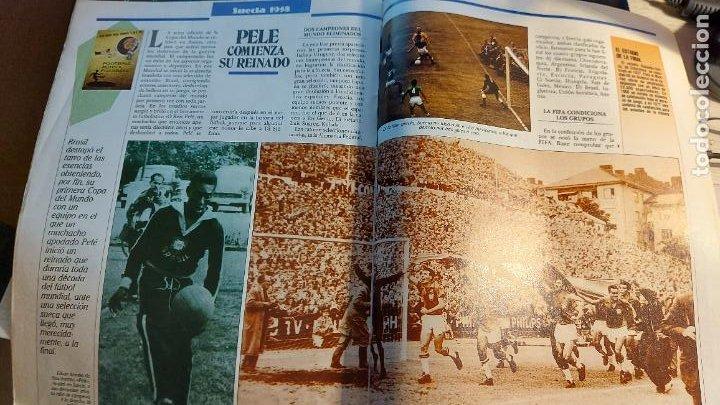 Coleccionismo deportivo: REVISTA DE FULBOL HISTORIAL DEL MUNDIAL 1930-1990 EL GOL DE ZARRA - Foto 3 - 246793830