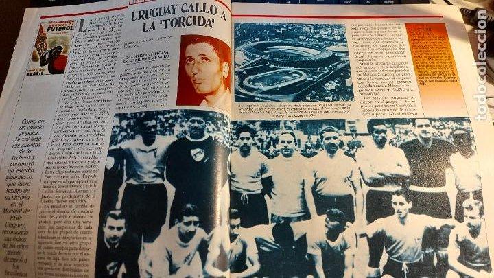 Coleccionismo deportivo: REVISTA DE FULBOL HISTORIAL DEL MUNDIAL 1930-1990 EL GOL DE ZARRA - Foto 4 - 246793830