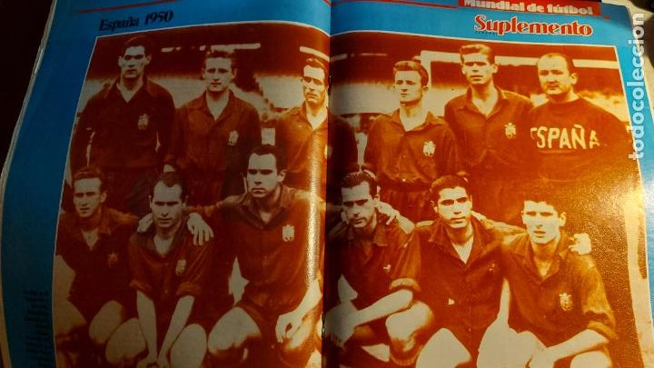 Coleccionismo deportivo: REVISTA DE FULBOL HISTORIAL DEL MUNDIAL 1930-1990 EL GOL DE ZARRA - Foto 5 - 246793830