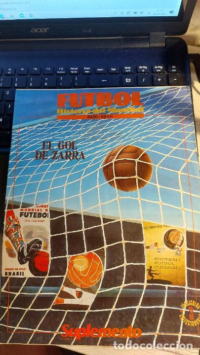 REVISTA DE FULBOL HISTORIAL DEL MUNDIAL 1930-1990 EL GOL DE ZARRA (Coleccionismo Deportivo - Revistas y Periódicos - otros Fútbol)