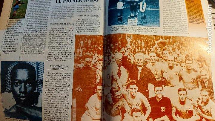 Coleccionismo deportivo: REVISTA DE FULBOL HISTORIAL DEL MUNDIAL 1930-1990 LA PRE-GUERRA - Foto 3 - 246794035