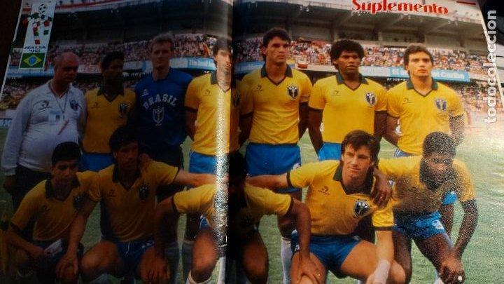 Coleccionismo deportivo: REVISTA DE FULBOL HISTORIAL DEL MUNDIAL 1930-1990 LA PRE-GUERRA - Foto 4 - 246794035