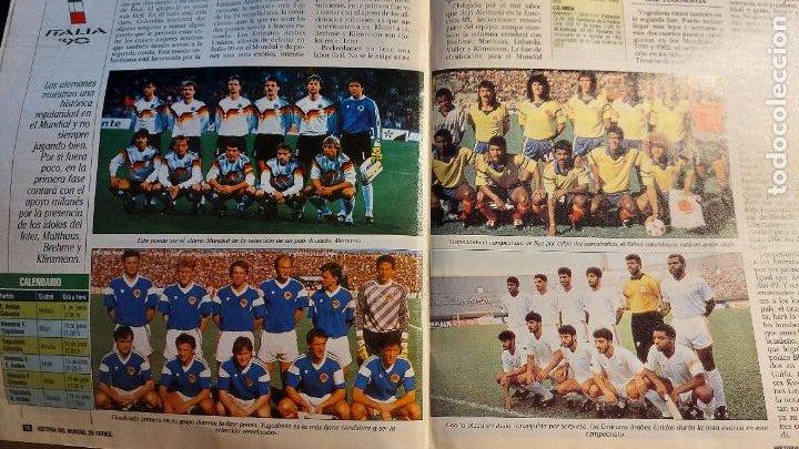 Coleccionismo deportivo: REVISTA DE FULBOL HISTORIAL DEL MUNDIAL 1930-1990 LA PROXIMA CITA - Foto 2 - 246794125