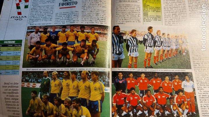 Coleccionismo deportivo: REVISTA DE FULBOL HISTORIAL DEL MUNDIAL 1930-1990 LA PROXIMA CITA - Foto 3 - 246794125