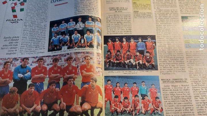 Coleccionismo deportivo: REVISTA DE FULBOL HISTORIAL DEL MUNDIAL 1930-1990 LA PROXIMA CITA - Foto 4 - 246794125