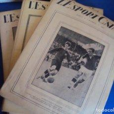 Coleccionismo deportivo: (F-210355)LOTE DE 62 EJEMPLARES L´SPORT CATALA - AÑOS 20 - JOAN GAMPER,SAMITIER,ALCANTARA,ETC.. Lote 248598965