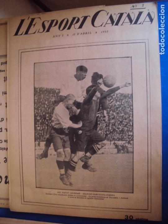 Coleccionismo deportivo: (F-210355)LOTE DE 62 EJEMPLARES L´SPORT CATALA - AÑOS 20 - JOAN GAMPER,SAMITIER,ALCANTARA,ETC. - Foto 3 - 248598965